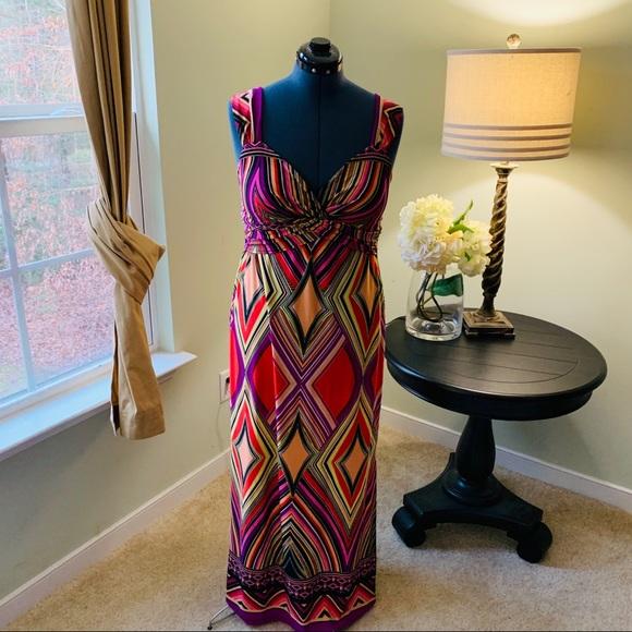 Olivia Matthews Dresses & Skirts - Olivia Mathews Maxi Dress Size L
